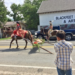 Parade for North American Indian Days